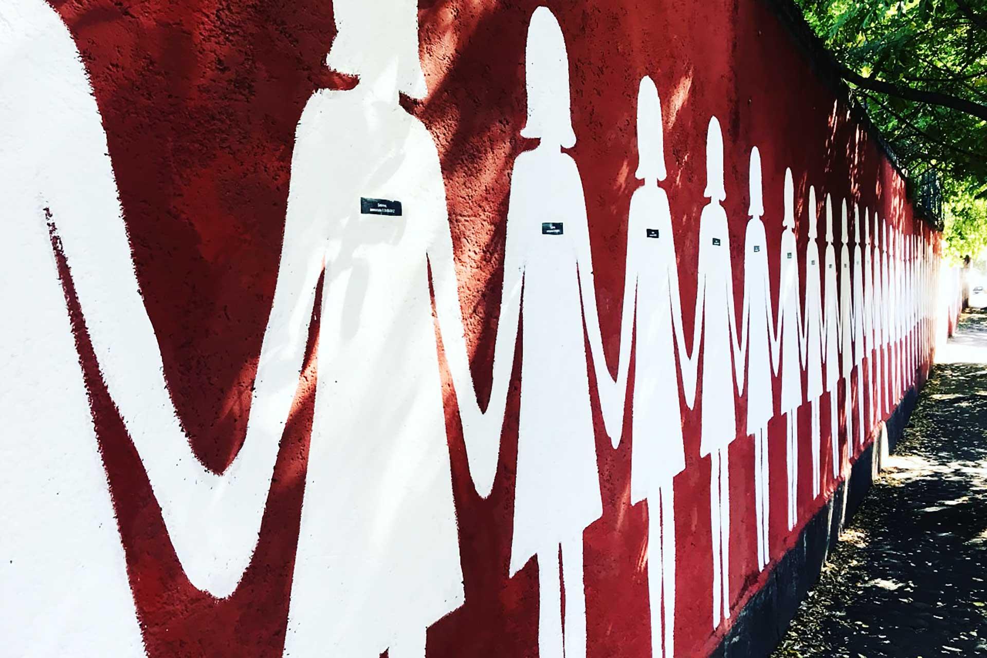 Street Museum a San Lorenzo – A 3 km dal Tempo Lento Guesthouse passeggiare nell'arte contemporanea